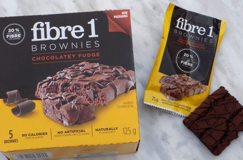 Fibre 1 Brownies Chocolatey Fudge - Low Calorie Snacks Canada