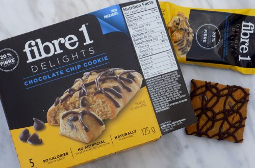 Fibre 1 Delights Chocolate Chip Cookies - Low Calorie Snacks Canada