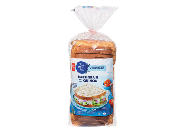 Low Calorie Bread Canada - PC Blue Menu Bread