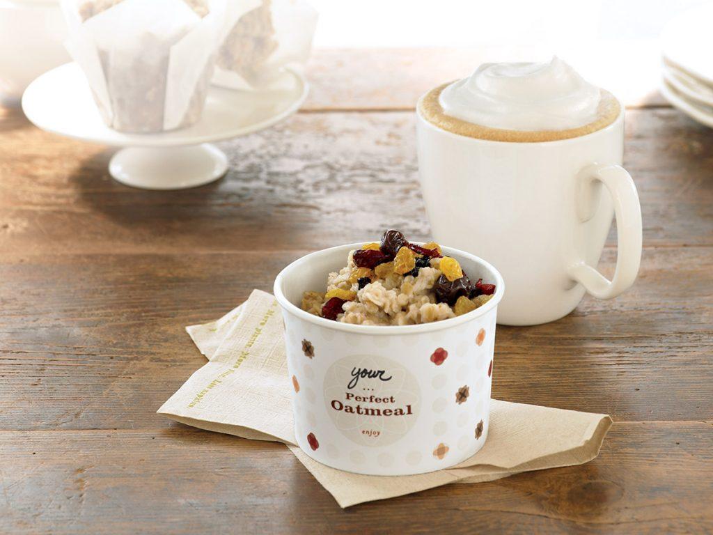Starbucks Canada - Low Calorie Breakfast Vegetarian Options